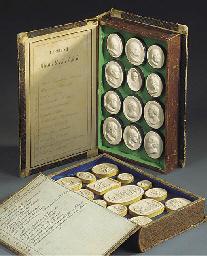 Two volumes of plaster intagli