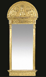 A SWEDISH GILTWOOD AND GESSO P