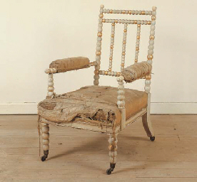 A GEORGE IV IVORY AND WHITE-PA