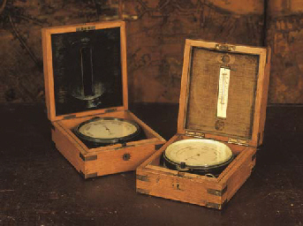 TWO LATE VICTORIAN OAK-CASED A