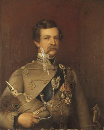 PORTRAIT OF AN OFFICER, HALF-L