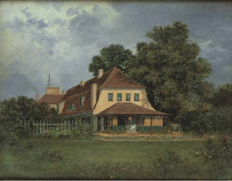 THE COTTAGE, POLSEAM, 1889