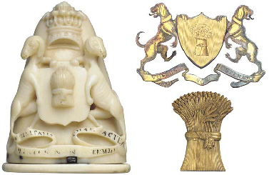 A HIGH RELIEF CARVED IVORY SNU