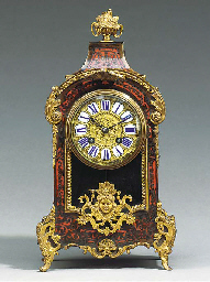 A FRENCH SCARLET-BOULLE AND GI