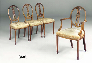 A SET OF FOUR LATE VICTORIAN M