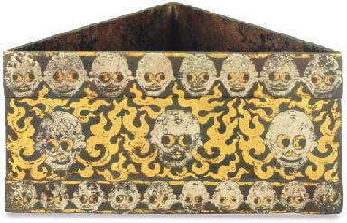 A Triangular Iron Box with Sku