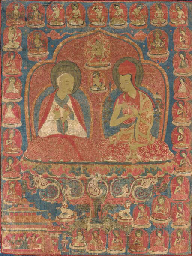 A Sakya Lineage Thangka