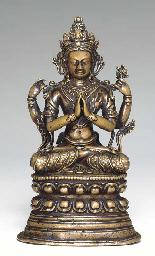 A Bronze Figure of Shadakshari