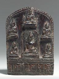 A Stone Stele of Buddha