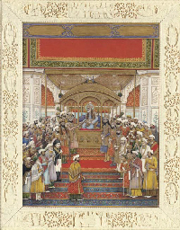 The Delhi Darbar of Akbar II (
