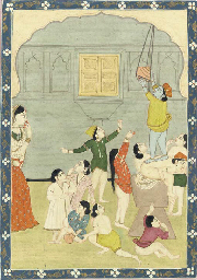 Krishna Caught Stealing Butter