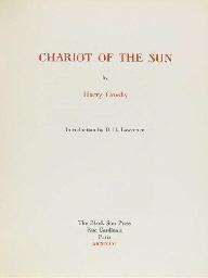 BLACK SUN PRESS -- CROSBY, Har