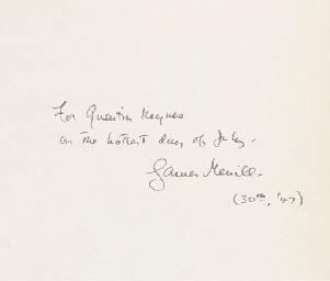 MERRILL, James Ingram (1926-19