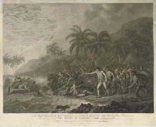 The Death of Captain Cook, by