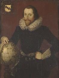 Portrait of a gentleman, stand