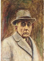Portrait of Roald Amundsen, bu