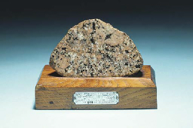 Granite from Cape Royds Lat 77