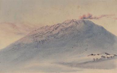 The summit of Mount Erebus