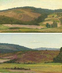 Landscape with Cottage, Westph