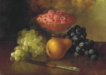 Still Life with Raspberries, G