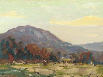 Mountain at Hoosatonic