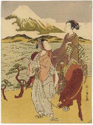 A parody of Ariwara no Narihir