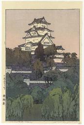 Himeji-jo/Himeji Castle-Mornin
