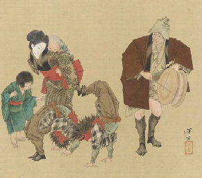 Kakubei lion dance