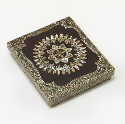An Inlaid Lacquer Writing Box