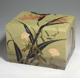 A Lacquer Accessory Box (Tebak