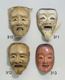 Noh Mask of Shojo