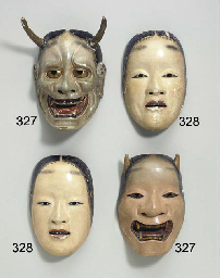 Noh Mask of Zo-onna Noh mask o