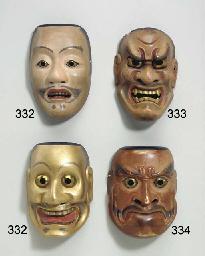 Noh Mask of Ayakashi Noh Mask