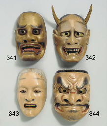 Noh Mask of Deikurohige