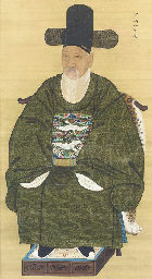 Portrait of the official Chang