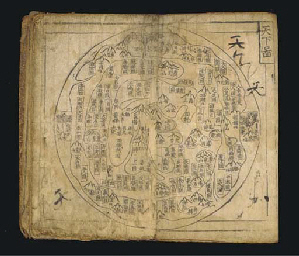 Maps of Korea and the world
