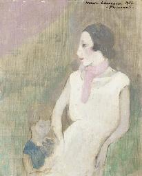 Nicole Groult et sa fille Beno
