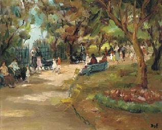 Paris, Parc Monceau