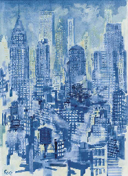 Blue Sky No. 3