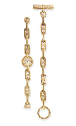 A SET OF GOLD JEWELRY, BY HERM