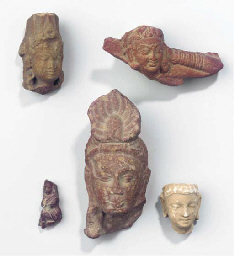 (5)  five various indian stone