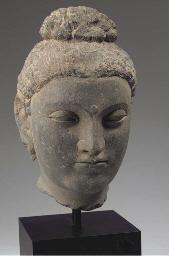 a gandhara grey schist stone h