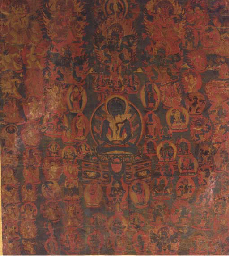 a tibetan thang.ka depicting s