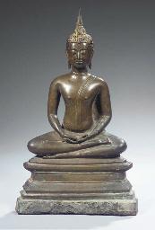 a thai, kampheng phet style, b