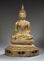 a thai, la na style, bronze fi