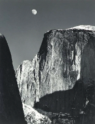 Moon over Half Dome, Yosemite