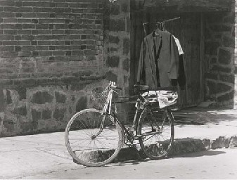 Untitled (Bicycle with hanging