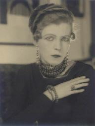 Portrait of Nancy Cunard, circ