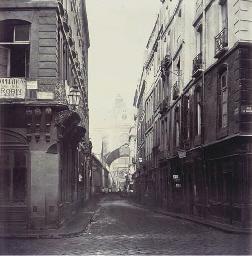 Rue des Prouvaires, Vue de la