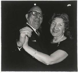 A Jewish Couple Dancing, NYC,